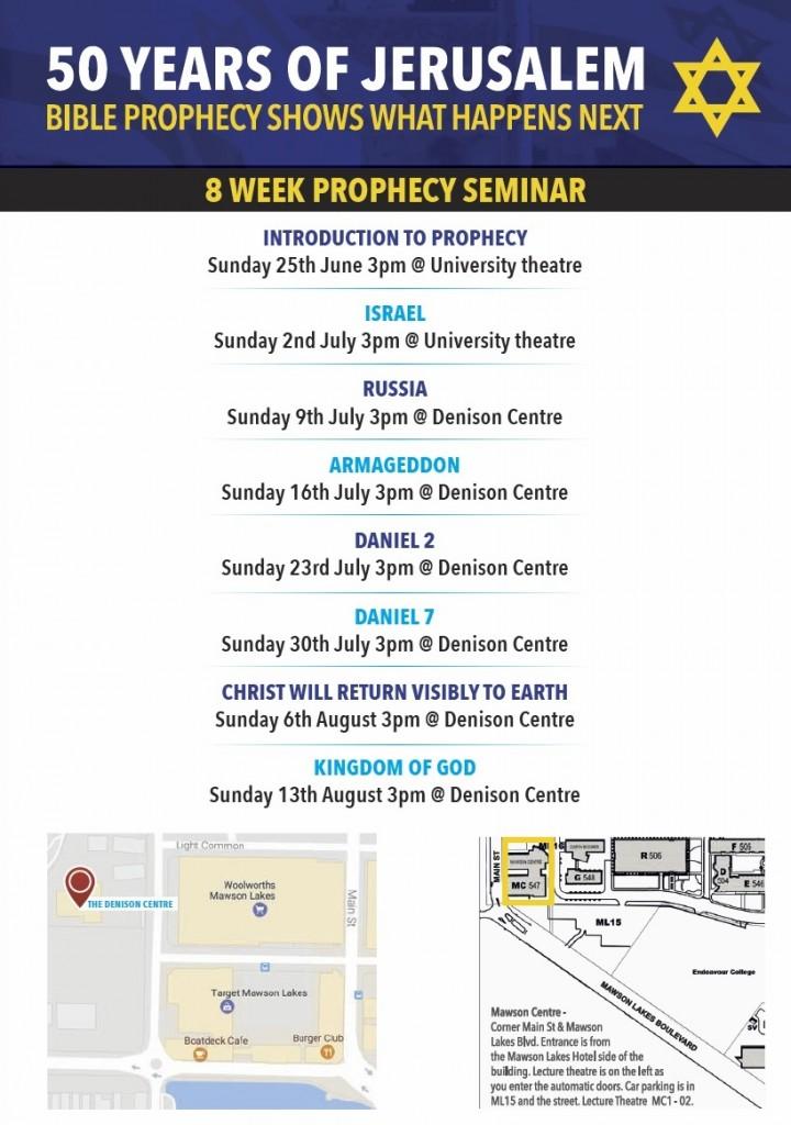 Prophecy Seminar